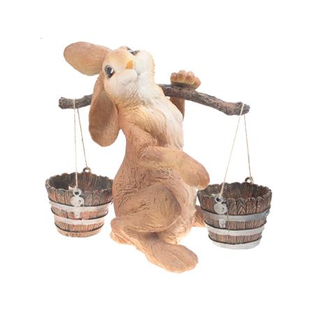 Заяц с коромыслом