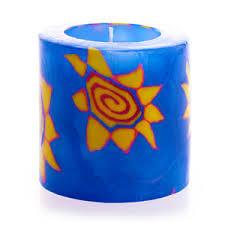 Свеча Звезда светящаяся большая 13214