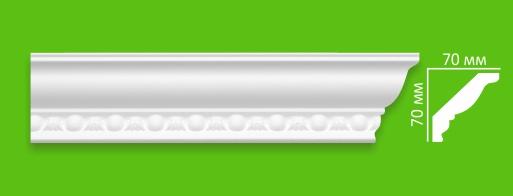 Плинтус потолочный VD 14 G (70х70)