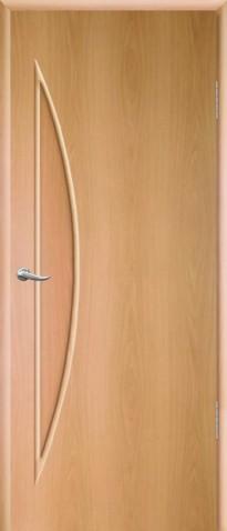 """Дверное полотно ламинированное ДПГ 0,7х2,0 милан. орех """"Луна"""""""