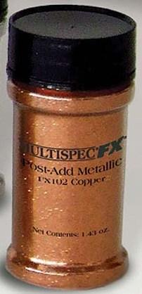 Добавка эффект металлик (медь) 0,041кг