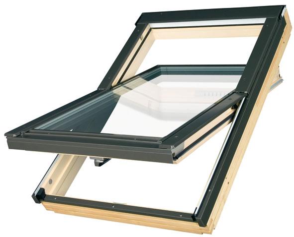 Окно мансардное факро FTS-V 55х98