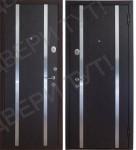 Дверь метал. ДC-437-11-венге 0444 870L(витрина)