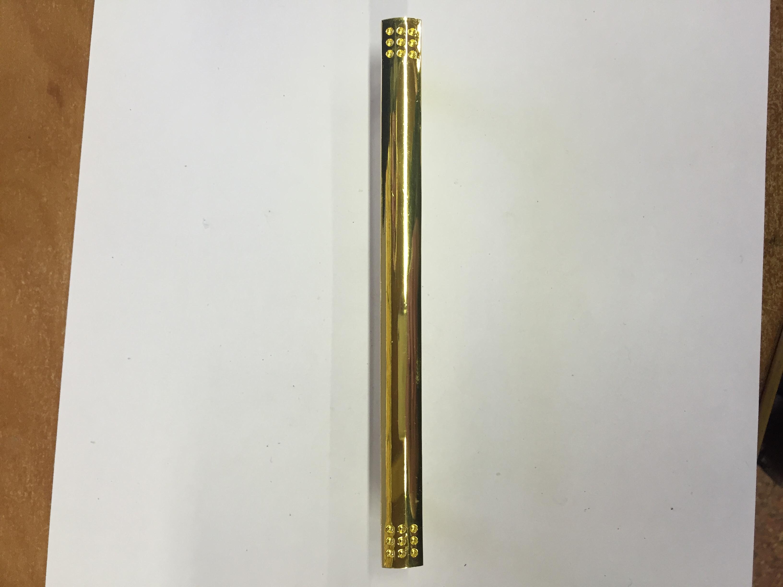Ручка мебельная 6783-128 (золото)