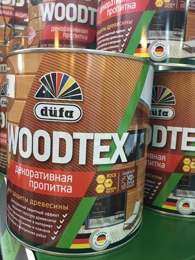 Пропитка Дюфа WOODTEX 3л орегон д/защиты древесины