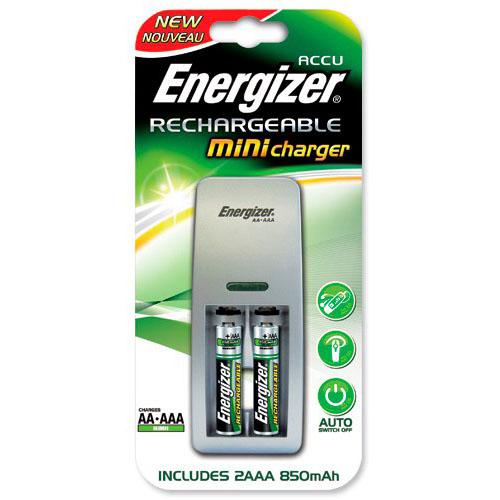 Зарядное устройство ENR 04 Mini Charger +2аккум ААА 850mAh*4