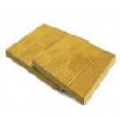 Плитка полимерно-песчаная тротуарная 25х330х330 желтая