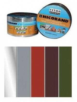 Лента самокл. Nicoband 10мх30см коричневый