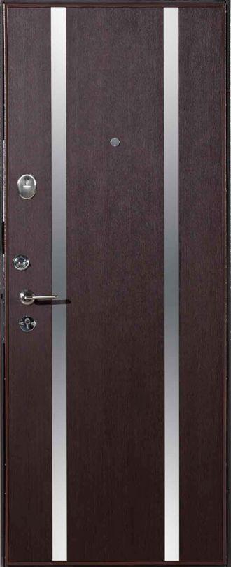 Дверь метал. ДC-437-11-венге 0444 870R(БРАК)