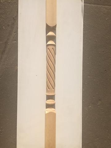 Балясина хвоя 60х60х900 мм (Т8)