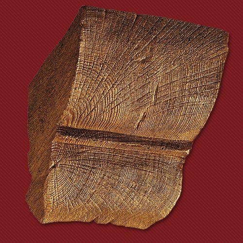 Консоль полиур. дуб темный 20х13 см