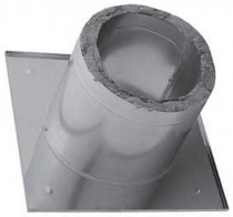 Потолочно проходной узел (нерж.сталь утеп.) ф115