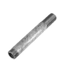 Сгон сталь удлиненн оц Ду 20 L=150мм б/комплекта из труб по ГОСТ 3262-75 КАЗ