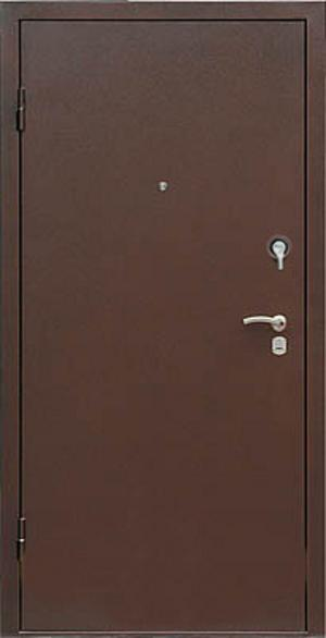 Дверь метал. 617 4068-4078 87 левая(витрина)
