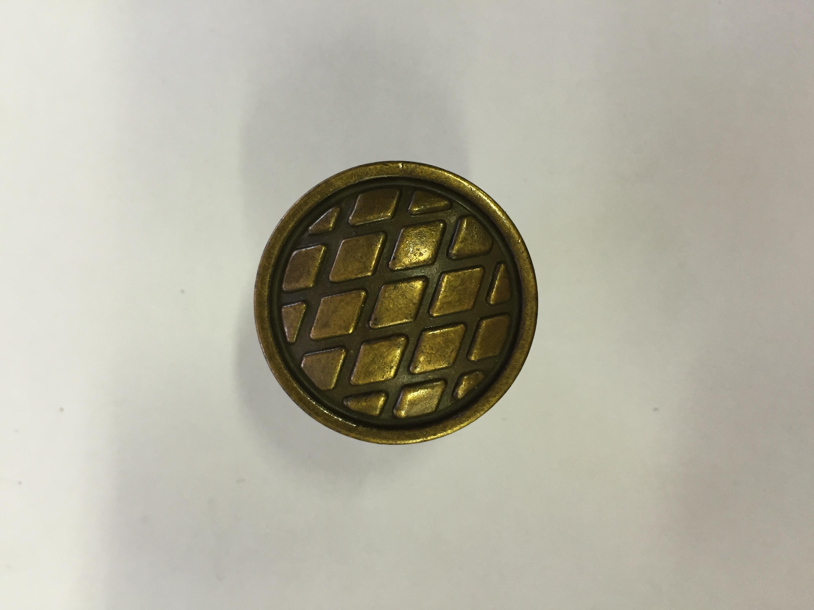 Ручка-кнопка Ретро (бронза)