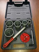 Набор коронок для  плитки с фольф.напылением